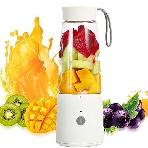 KOKO Entsafter Mini tragbare Haushalts Entsafter Saft Tasse Multifunktions-Kochmaschine Geburtstagsgeschenk Lade Saft Tasse kann Hirse Paste schlagen
