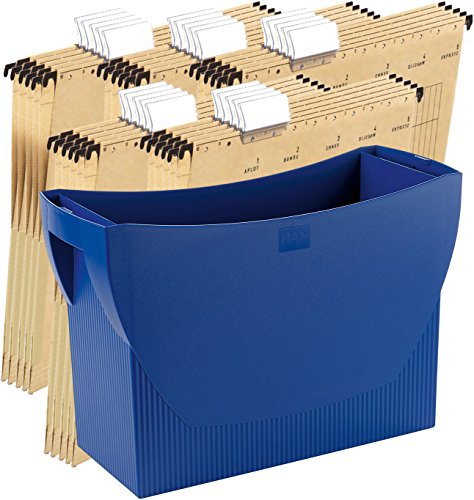 Design HAN 1901-13 Suspension File Box SWING-PLUS avec couvercle Le Bureau mobile