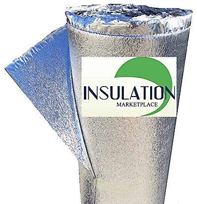 SmartSHIELD -3mm 16'x10Ft Reflective Insulation Roll, Foam Core Radiant Barrier, Thermal Foil Insulation, Commercial Grade