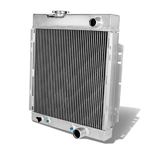 V8 AT//MT OzCoolingParts 4 Row Core Full Aluminum Radiator 14 Fan w//Shroud Kit for 1963-1966 64 65 Ford Mustang Falcon Ranchero//Mercury Comet