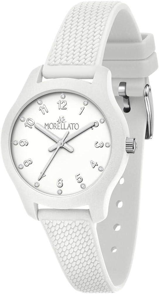 Orologio da donna morellato, collezione soft, ref. ,  in silicone, movimento al quarzo 8033288896524