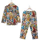 Handicraft Bazarr Lounge Wear Batas de noche para mujer, ropa de dormir, ropa de noche, de algodón, ropa de noche, ropa de dormir, de algodón, para mujer, talla XL,