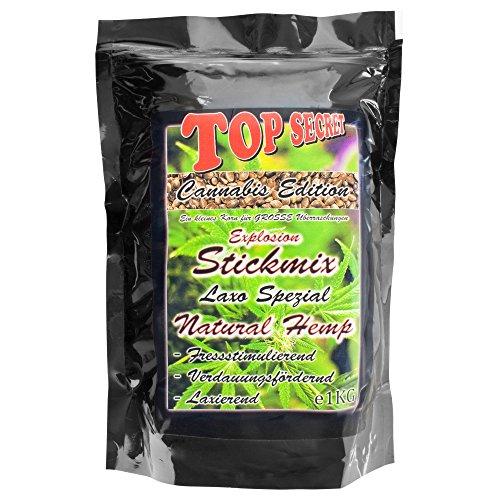 Top SecretCannabis-Edition Stickmix Natural Hemp 1Kg