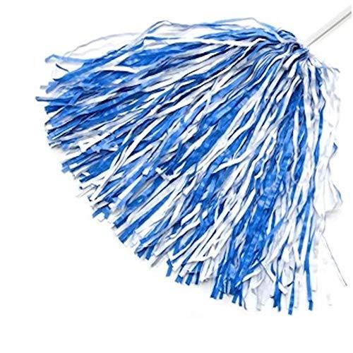 Shrunken Head Brand North Carolina Blue and White Pom Pom