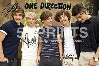 One Direction Niall Póster de Harry Styles de polipropileno firmada por Liam diseño de Louis 12 x 20,32 cm regalo perfecto