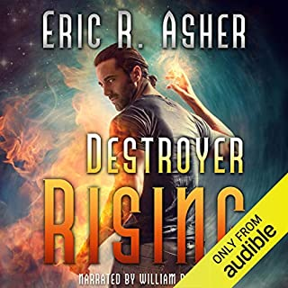 Destroyer Rising     Vesik, Book 5              By:                                                                                                                                 Eric Asher                               Narrated by:                                                                                                                                 William Dufris                      Length: 9 hrs and 32 mins     239 ratings     Overall 4.7