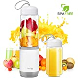 Mixer Smoothie Maker, Mini Standmixer, 350ML Tragbar Entsafter, Blender elektrisch, Ideal für...