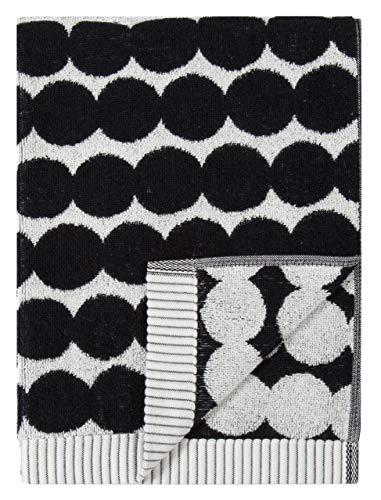 Marimekko - RÄSYMATTO - Handtuch - schwarz/weiß - Baumwolle - 50X100 cm