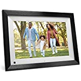 SAMMIX Digital Picture Frame WiFi 10.1 inch IPS Touch Screen Digital Photo Frame, 16GB Storage, Auto-Rotate, Motion Sensor, Share Photos via App, Email from Anywhere