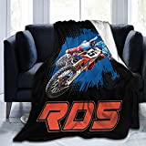 Ryan Dungey Ultra Soft Plush Luxury Lightweight Micro Fleece Blanket Home Decor Warm Anti Pilling Flannel Throw Couch Bed Sofa Office Company Bedding All Seasons Living Room Fashion 80'X60'