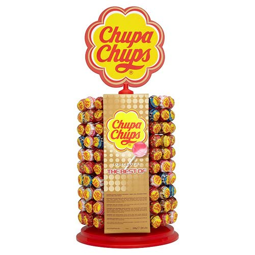 Chupa Chups – Wheel The Best Of – 200 Lolly's