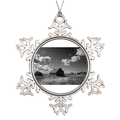 VinMea Snowflake Metal Ornament Ideas for Decorating Christmas Trees Old Prairie Homestead in Saskatchewan Canada Sports Snowflake Ornaments