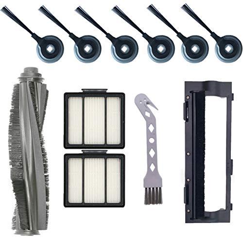 Camisin Convient pour les aspirateurs Shark Robot S87 R85 RV850, accessoires filtre, brosse principale, brosse latérale, brosse principale.
