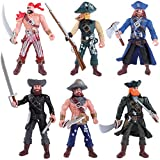 Elcoho 6 Pack Soldier Action Fig...