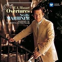 Mozart: Overtures by Neville Marriner (2014-06-18)