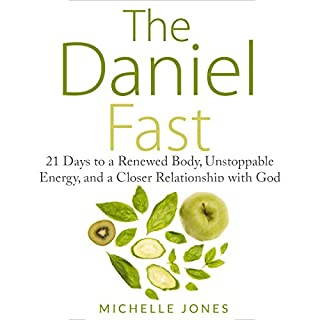 The Daniel Fast audiobook cover art