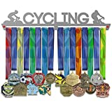 Cycling Medal Hanger Display | Sports Medal Hangers | Stainless Steel Medal Display | by V...