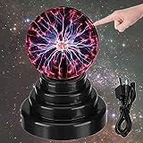 DQTYE Touch sensible bola de plasma USB/batería energía lámpara plasma esfera mágica globo novedad juguetes decoración atmósfera luz