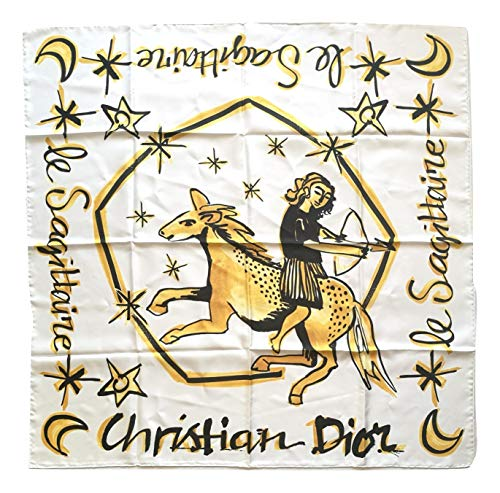 Dior Schal für Damen aus Seide Sternzeichen ST04X9 ST062 90 x 90 cm