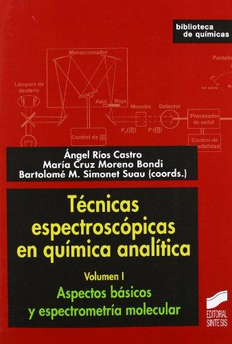 Aspectos básicos y espectrometría molecular (Técnicas espectroscópicas en química analítica)