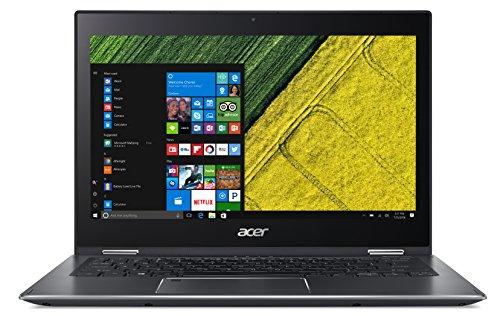 Acer Spin 5 SP513-52N-53HQ 13.3-Inch Notebook - (Steel Grey) (Intel Core i5-8250U, 8 GB RAM, 256 GB SSD, Intel UHD Graphics 620, Windows 10 Home)