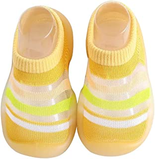Carolilly, Zapatos de niño con suela de goma para caminar y caminar de malla transpirable
