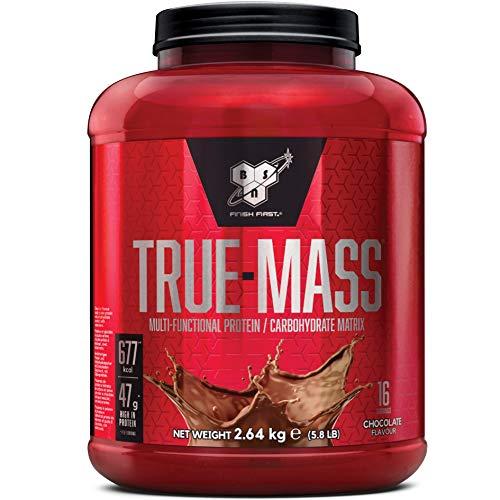BSN True Mass Proteine in Polvere per Aumentare la Massa Muscolare, Cioccolato Milkshake, 2.64 kg, 16 Porzioni