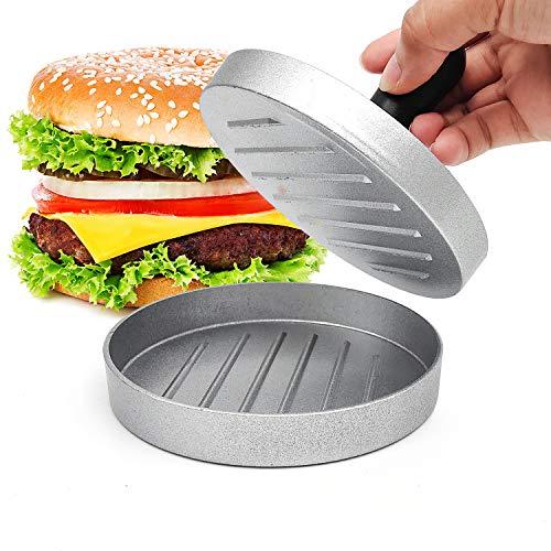 ZJW Burgerpresse Patty Maker, mit Antihaftbeschichtung, Das perfekte Werkzeug für hausgemachte Burger und Patties