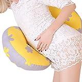 LZDseller01 - Almohada para embarazadas en forma de U, almohada para dormir...
