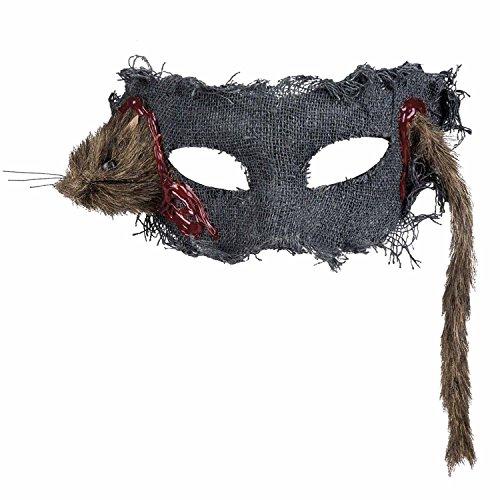 Boland 72153 Augenmaske Ratte, One Size