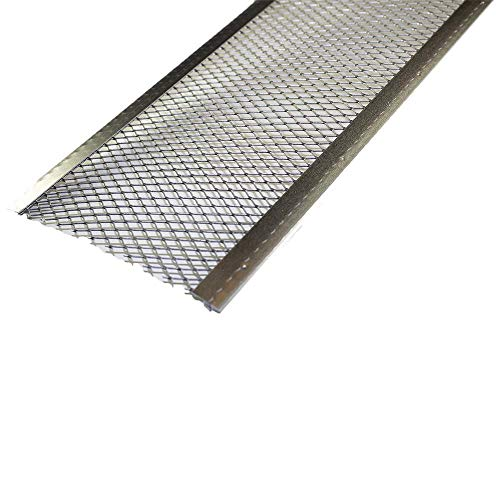 Spectra Metal Sales GS501LC25 Armour Screen Gutter Guard, Corrosive Resistant Aluminum, Easy to...