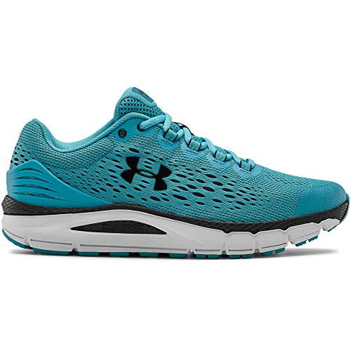 Under Armour Mens Charged Intake 4 Laufschuhe, Zapatillas de Running para Hombre, Verde (Escape/Halo Gray/Black (300) 300), 44 EU