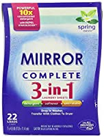 MIIRROR Complete 3-in-1 Laundry Sheets, Spring Oasis, 22 Count [並行輸入品]