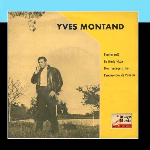 """Price comparison product image Vintage French Song Nº4 - EPs Collectors """"Planter Café"""""""