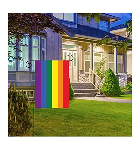 Gartenfahne, Wetterfeste Fahnen und Flaggen, 30 x 45 cm Flaggen, Outdoor Banner Flagge, Ösen lichtbeständig außerhalb Garten Haus Home Decor
