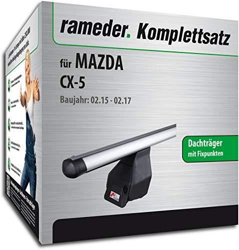 Rameder Komplettsatz, Dachträger Tema für Mazda CX-5 (144975-10207-1)
