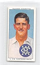 Chuck Fleetwood-Smith 1938 Player Cigarettes Cricketers #42 (EX)