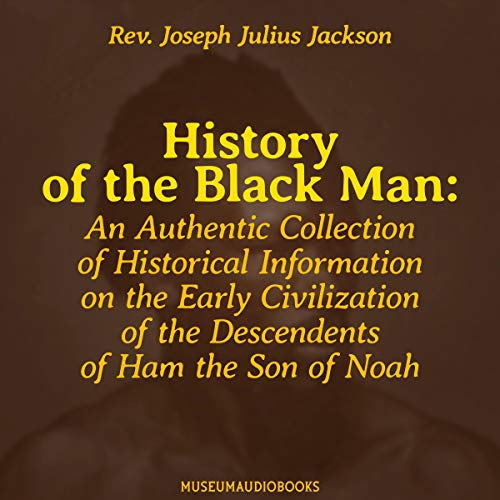 History of the Black Man audiobook cover art