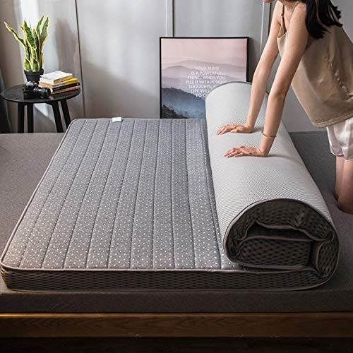 45532rr Sizing: 90X200 cm (headliner), thickness: 10cm, Memory foam lifelike latex filling unanimous breathable mattress (Color : Blue whale)