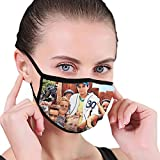 Danio The Sandlot (1993) Russian DVD Movie Cover Balaclava Face Mask with Filter Face Cover Unisex Black