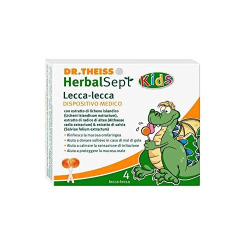 DR THEISS HERBALSEPT KIDS LOLLY (für Reizung und Halsschmerzen von Kindern)