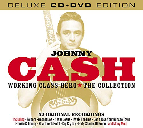 Johnny Cash: Working Class Hero-The Collection Deluxe CD Edition with Original Recordings (Rarities Bonus DVD) [Import]