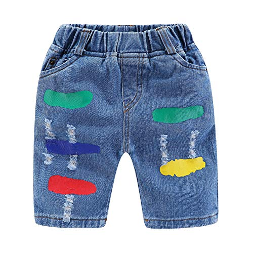 Mud Kingdom Little Boy Denim Shorts…