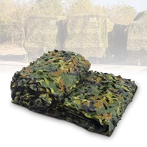 AYNEFY Camouflage Net Mallas de Protección, Red de Camuflaje de la Red Caza Militar Tiro Tiro Ejército Ejército Red 2 x 3 Metros para Camping Acampar ciegas decoración