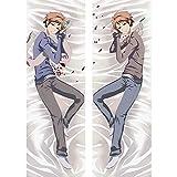 Startor Anime Pillow Cover/Body Pillowcase Anime Ouran High School Host Club 3D Sexy Dakimakura !!! Hugging Pillowcase Double-Sided Peach Skin/2WT Throw Pillow Case Otaku Fans' Favorite Cushion Cover