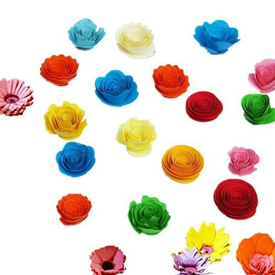 Fonder Mols DIY Paper Flowers Quilling Template Kit Paper Blooms Paper to Petal Total 292 Style to Make for Celebrations