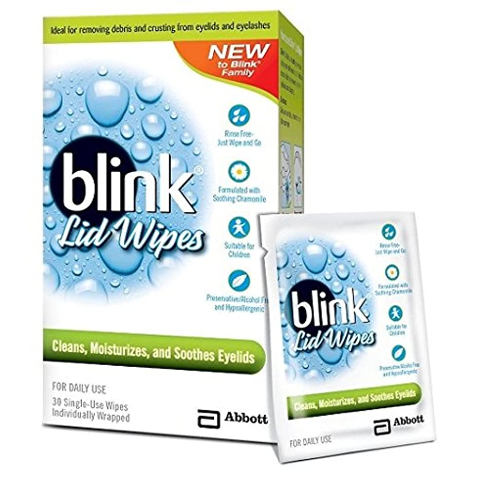 Blink Lid Wipes, 30 Single Use Wipes Per Box (4 Boxes)