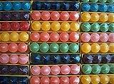 Timtina - Ceri votivi colorati con circa 8-10 profumazioni, colori assortiti, confezione da 120 pezzi