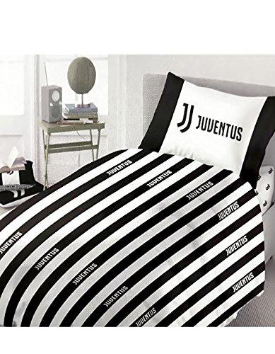 Completo lenzuola F.C. Juve Juventus ufficiale per letto Piazza e Mezza