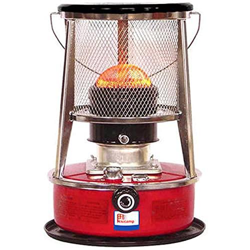 Stufa Portatile a Cherosene 8900 BTU, bruciatore a Cherosene, riscaldatori a Olio da Campeggio, Stufa per Interni ed Esterni, Patio, terrazza, casa, 4,6 l